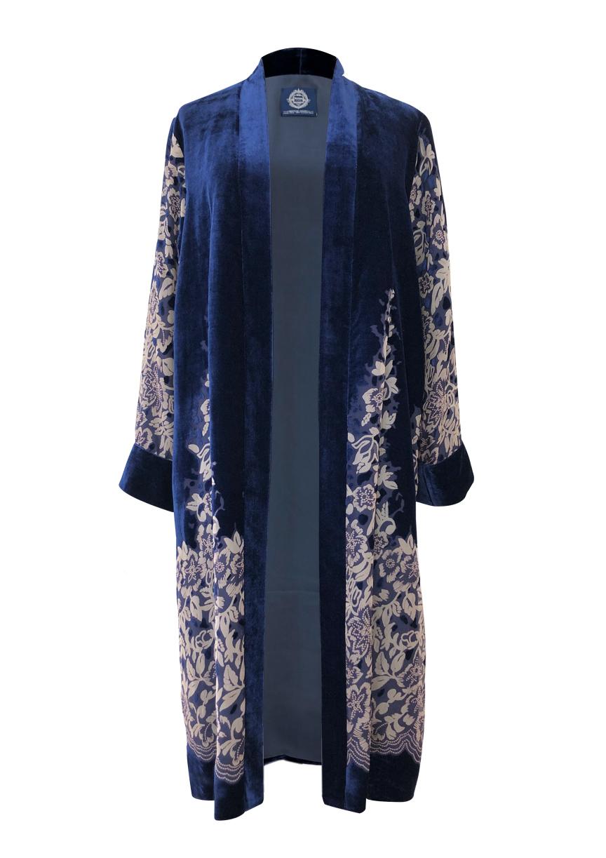 kimono+blue+velvet