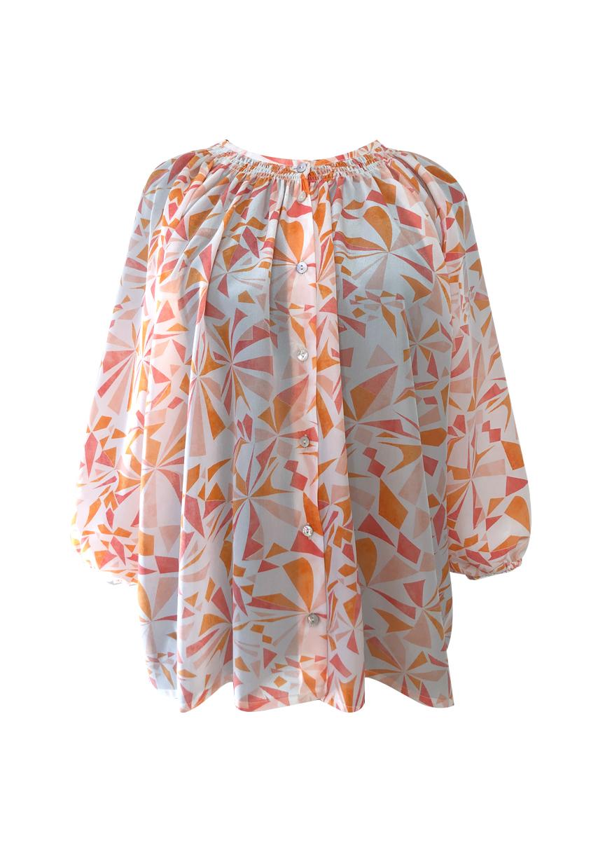 shirt+silk+print
