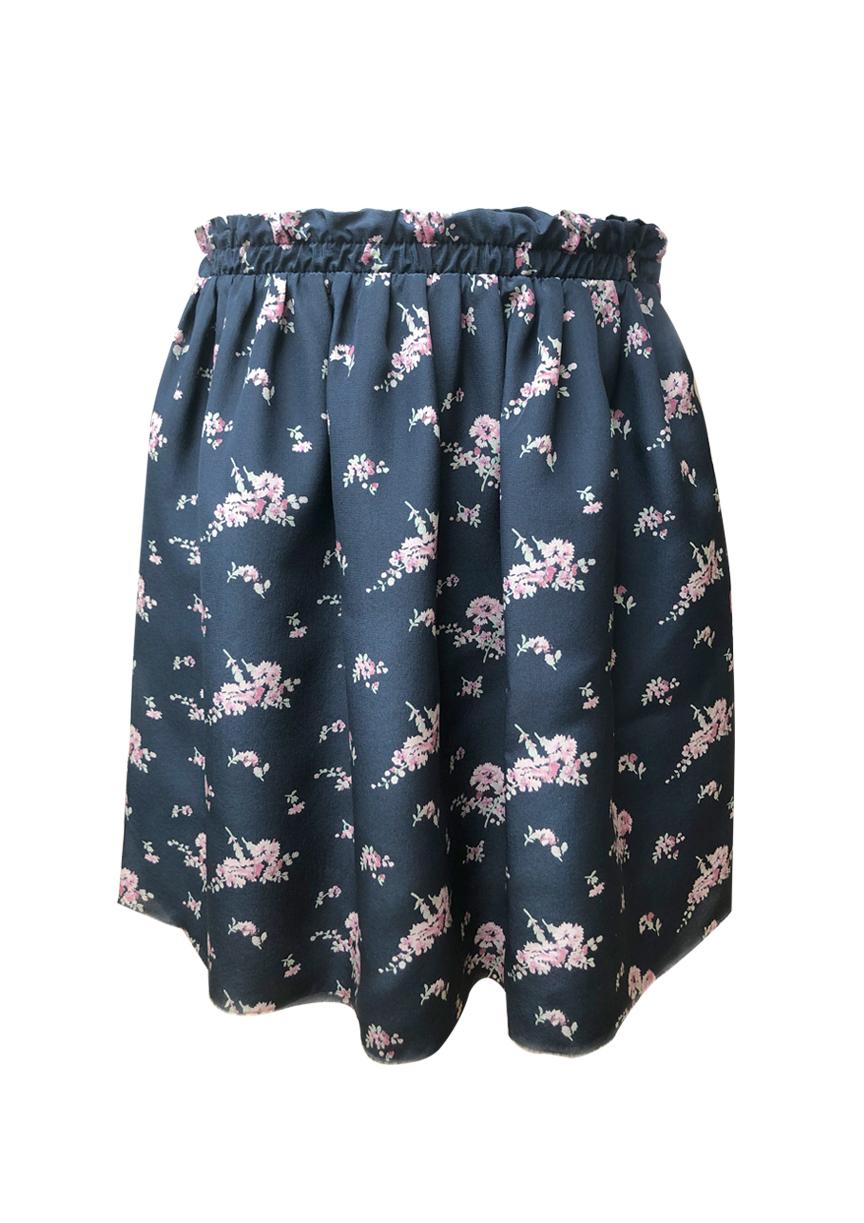 skirt+pink+flowers