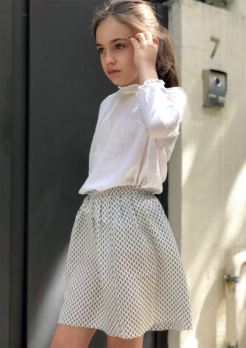 skirt+white+girl